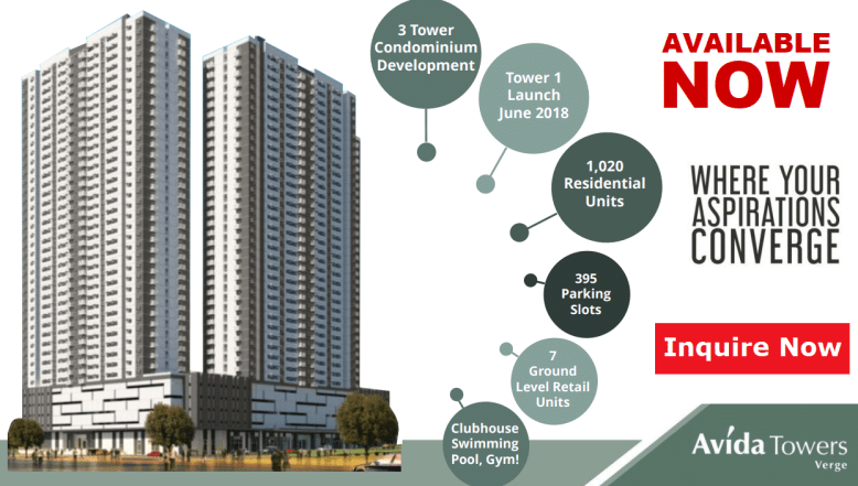 Avida Towers Verge Features