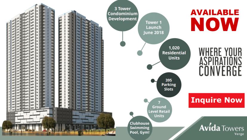Avida Towers Verge Features