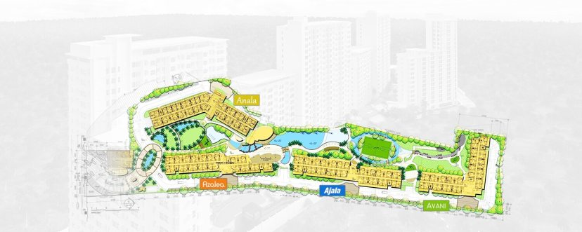 Masterplan of Anuva Residences