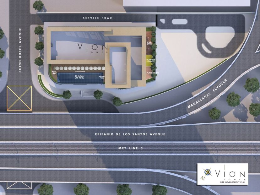 Vion Tower Location and Vicinity