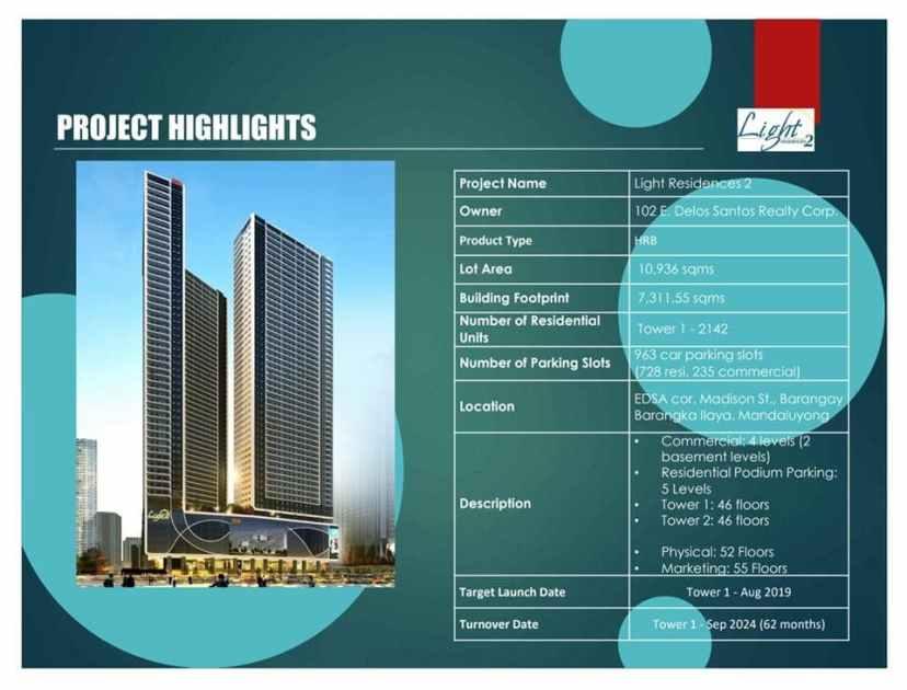 Light 2 Residences Info