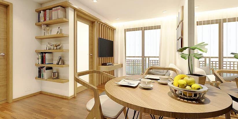 Larossa 1BR Floor Plan