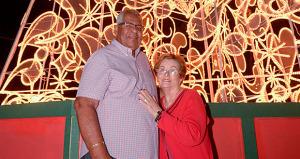 El alcalde de Humacao, Marcelo Trujillo Panisse y la primera dama, Rosa Plumey. (Foto/Suministrada)