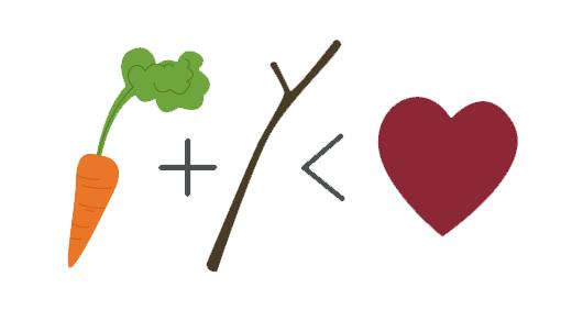 El palo y la zanahoria son menos eficaces que la pasión