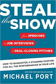 "Portada del libro ""Steal the Show"" de Michael Port"