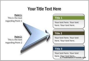 PowerPoint 3D Arrows