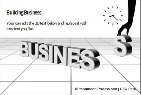 3D Business Concepts from CEO Pack