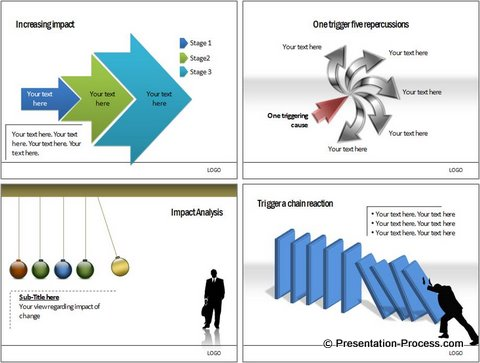 Cause Effect Diagrams from PowerPoint Charts CEO Pack