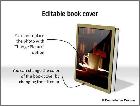 Editable book cover from PowerPoint CEO Pack 2