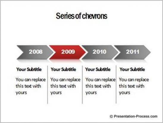 Highlighted Timeline in PowerPoint