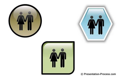 Icon Vectors Examples PowerPoint