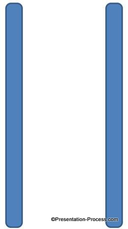 Rounded rectangle for Ladder Rails