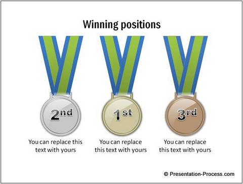 Medal Graphic from PowerPoint CEO Pack 2