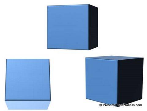 PowerPoint 3D Cube tutorial