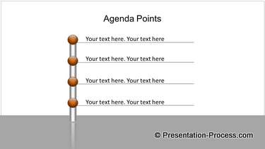 PowerPoint Bar with Agenda