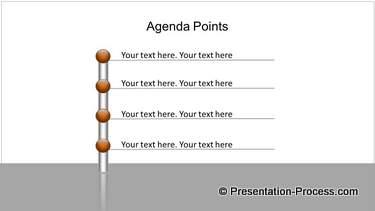PowerPoint Bar with Agenda