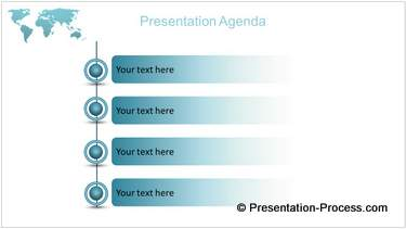 PowerPoint Agenda List