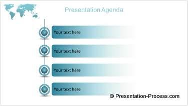 PowerPoint Agenda List