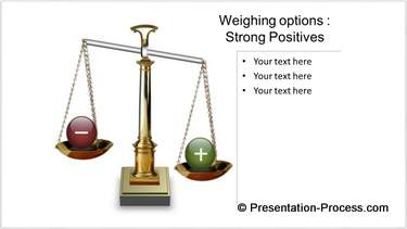 Positive PowerPoint Balance