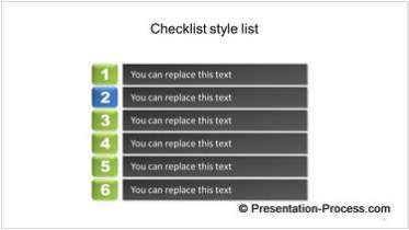 Creative Checklist