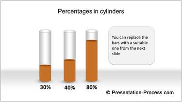 PowerPoint Fill level Infographic