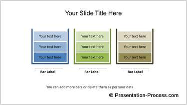 PowerPoint Bar Charts Infographic