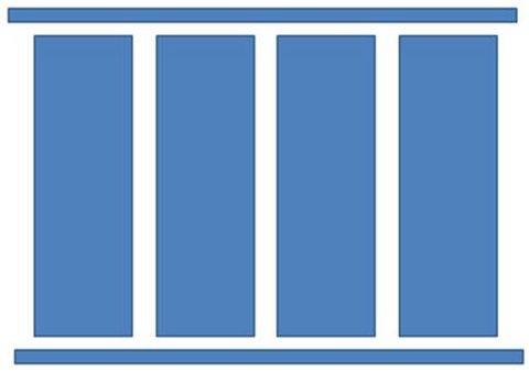 Basic PowerPoint Pillar Diagram