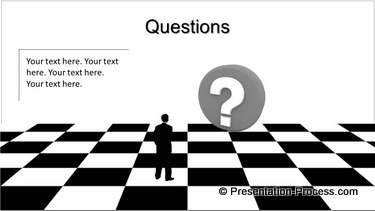 Strategic Presentation Questions