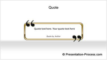 PowerPoint Quotes