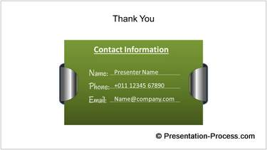 thank you slide powerpoint
