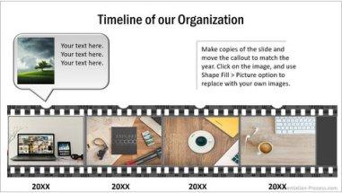 PowerPoint Movie Timeline