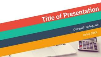 Colorful PowerPoint Title Slide