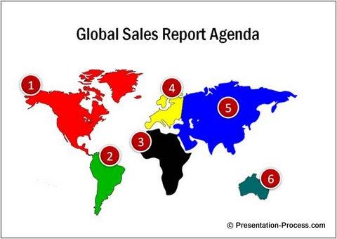 Presentation Agenda Map Image