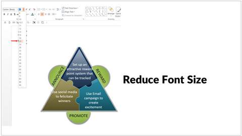 How to fit a large amount of text into your powerpoint template reduce font size fit text into powerpoint template toneelgroepblik Gallery