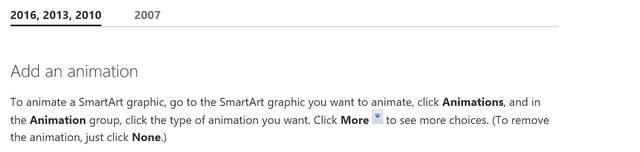 Animation SmartArt PowerPoint Tips