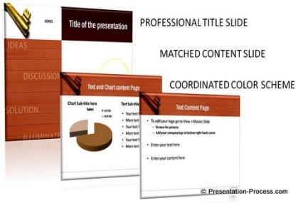 Title Slide with Color Scheme