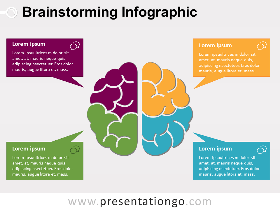 Brainstorming The Free PowerPoint Template Library