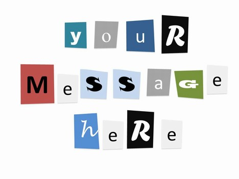 Ransom Notes Template