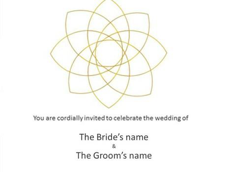 Garden Flower Wedding Powerpoint Templates Vqv