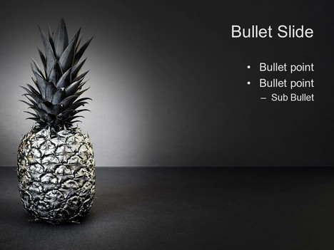 Black Pineapple Template