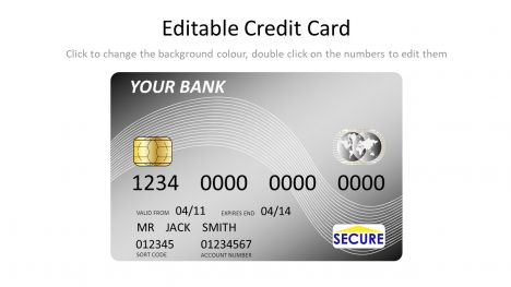 Free credit card template (psd) psd download | get more credit card, vectors and free psd featured in +60,631 free mockup psd, flyer psd and psd templates. Silver Credit Card Template