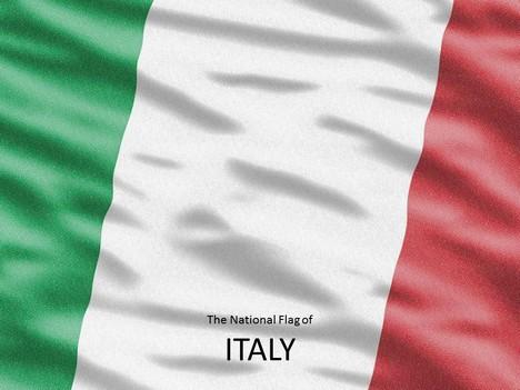 Italian Flag Template