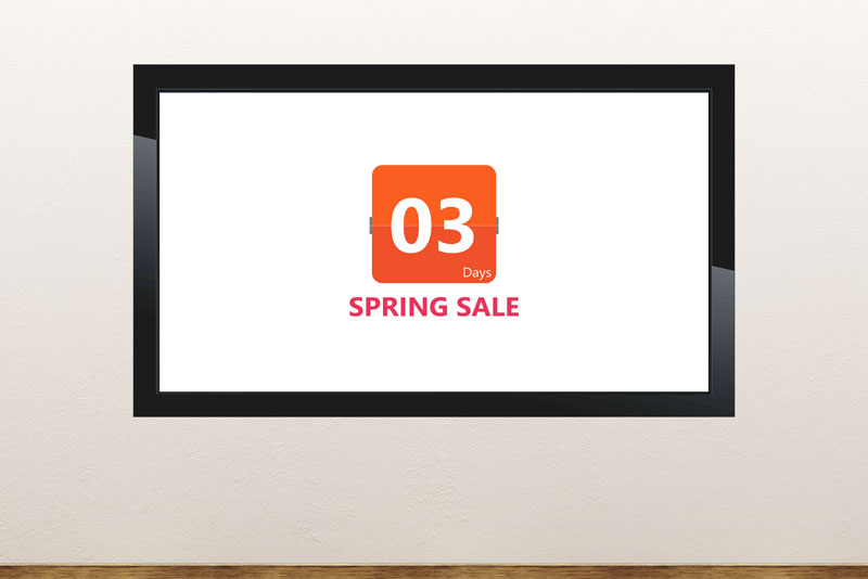 Free PowerPoint template about the spring season
