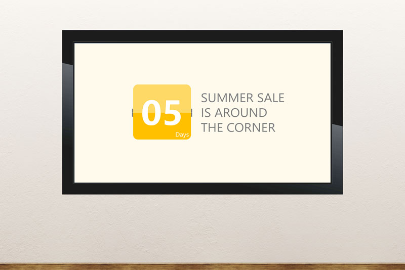 Free PowerPoint template about the summer season