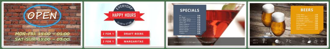premium powerpoint digital signage templates