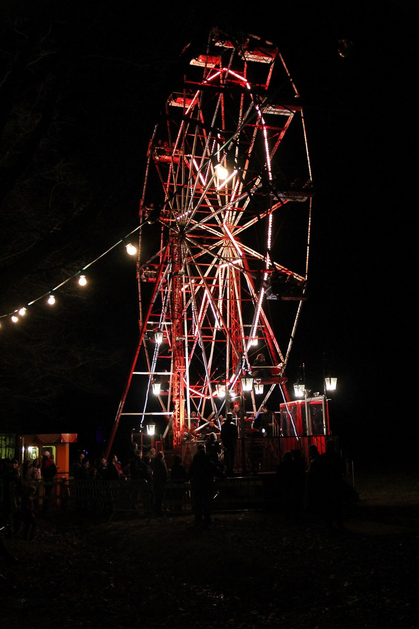 Ferris wheel at Bokrijk's Winter Evenings