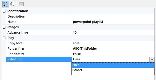 add files or folder to the playlist
