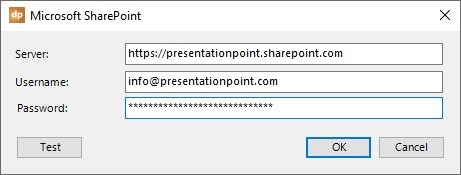 sharepoint connection properties