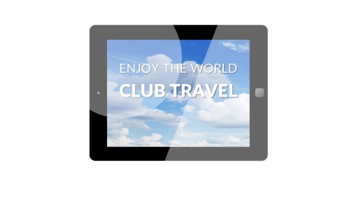 Premium PowerPoint template for Travel Agency - Logo