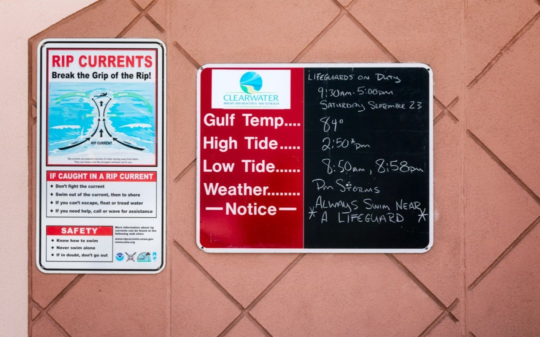Swimming Signs: Presentation Makeover